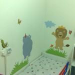 עיצוב חדר במחלקת ילדים בבית חולים / מרפאה מדבקות טרובדור.