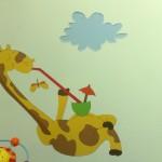 עיצוב חדר במחלקת ילדים בבית חולים / מרפאה מדבקות טרובדור