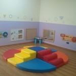 מרחב פעילות ומשחק לתינוקות