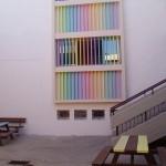 בנין בית ספר , חטיבת ביניים, לאחר עיצוב וצביעה