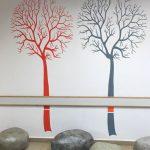 עיצוב ועיטור מבואת כניסה בבית ספר גניגר בחיפה