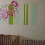 תינוקייה , צביעה דקורטיבית  ומדבקות קיר