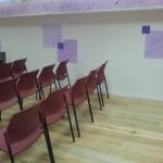 חדר מוסיקה לאחר עיצוב ועיטור