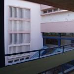 בנין בית ספר , חטיבת ביניים, לפני עיצוב וצביעה
