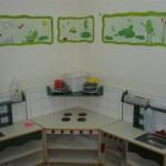 עיצוב ועיטור פינת מטבח בגן / מעון   מדבקות טרובדור