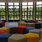 בית ספר בר לב פתח תקווה. עיצוב מסדרון